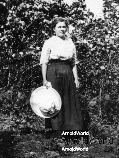 Lottie M. Arnold, circa 1915.