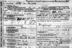 1918-11-05-ArnoldLM1897-Death-Certificate