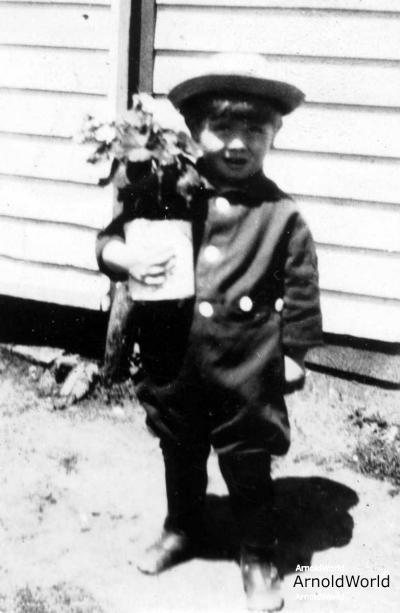 Alton Arnold, circa 1928.