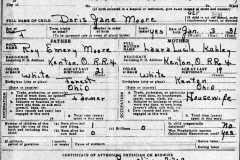 1931-01-03-MooreDJ1931-Birth-Certificate