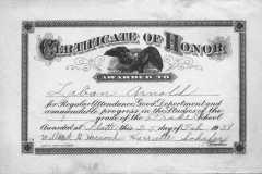 1938-02-25-ArnoldLD1929-Certificate-of-Honor