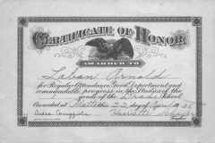 1938-04-22-ArnoldLD1929-Certificate-of-Honor