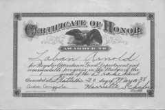 1938-05-20-ArnoldLD1929-Certificate-of-Honor