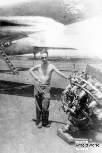 PFC Alvin E. Arnold, India, 1944.