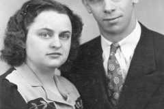Alvin E. Arnold and Charlotte M. Burrington, 1940.