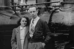 Charlotte Burington and Alvin Arnold, 1941.