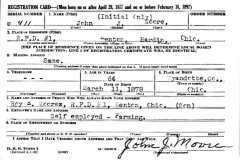 1942-00-00-MooreJohnJ-WW2-Draft-Registration