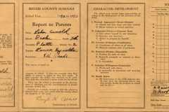1943-05-01-ArnoldLD1929-Report-CardPromoted-to-Eighth-Grade
