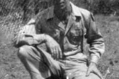 PFC Alvin Arnold, 1945.