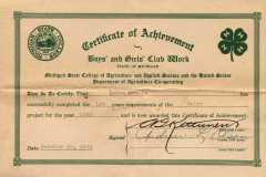 1945-10-19-ArnoldLD1929-Certificate