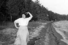 Doris J. Arnold, circa 1949.