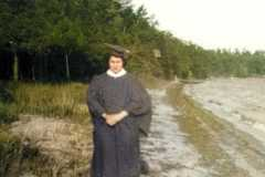 1949-00-00-MooreDJ1931-in-Cap-and-Gown-for-Graduation-Green-Lake1-colorized