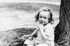 Carol Lynne Arnold, circa 1950.