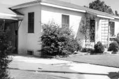 Alvin and Charlotte's California house, September 1952.
