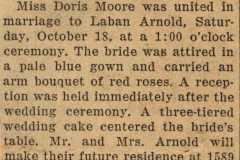 1952-10-18-ArnoldLD1929-MooreDJ1931-Marriage-Announcement-Traverse-City-Record-Eagle-02