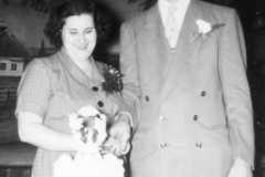 Doris J. Moore and Laban D. Arnold Wedding Reception, October 18, 1952.