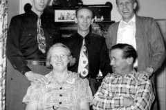 Laban D., Alfin E., and Allen F. Arnold, Tracie M. Balitz and Daniel S. Arnold, 1952.