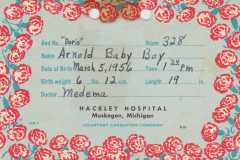 1956-03-05-ArnoldDE1956-Birth-Card