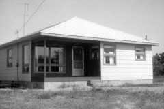 Summer '63, Our new house, 1963.