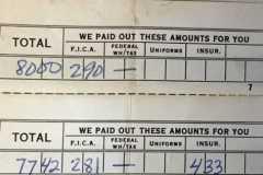 1965-07-08-ArnoldLD1929-Pay-Stub-George-Vincent-Chevrolet