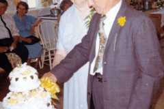 Tracie M. Balitz and Daniel Simon Arnold celebrate their 50th wedding anniversary. July 3, 1966.