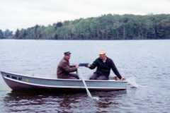 Herendeene Lake, Almira Township, MI, 1968.
