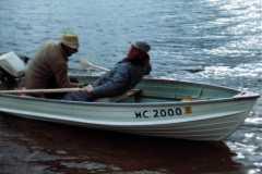 1968-05-01-Saugatuck-ArnoldAF1921-ArnoldLD1929-in-Boat-on-Goshorn-Lake