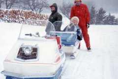 Tracie Balitz, Dan and Allen Arnold, Christmas day, 1968.