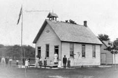 Platte Schoolhouse, Benzie County Michigan, circa 1910