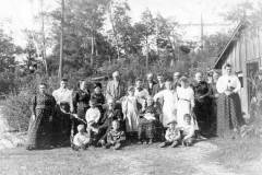 Family Gathering, circa 1911
