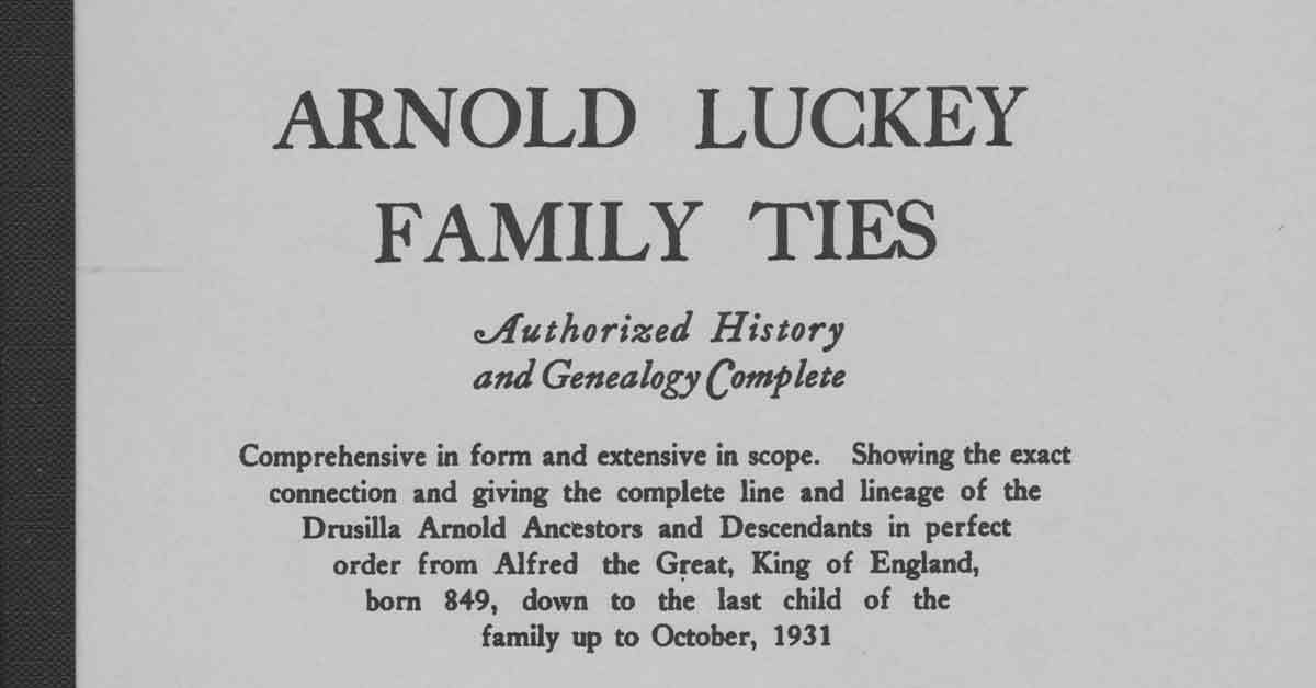 Arnold-Luckey Book Published