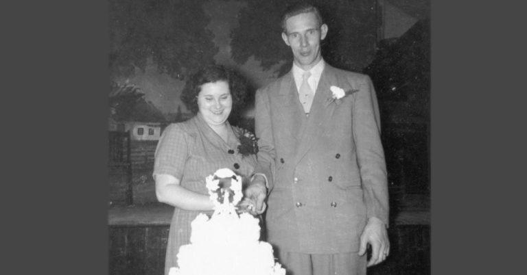 Laban Daniel Arnold and Doris Jane Moore Marriage
