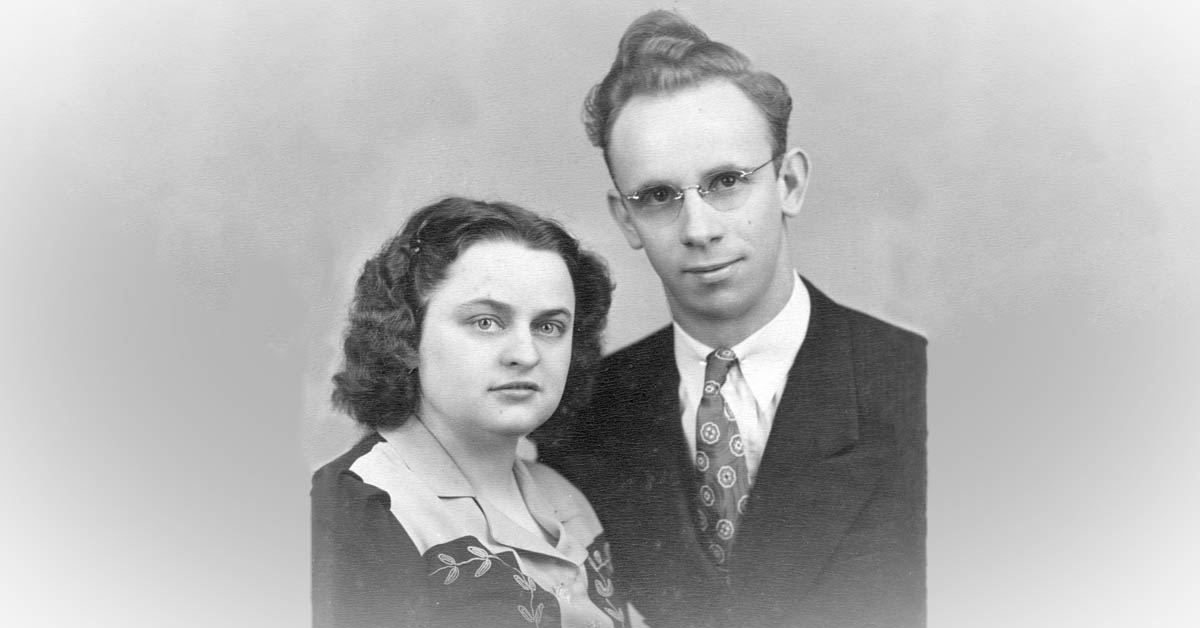 Alvin Ernest Arnold and Charlotte Marie Burrington Marriage